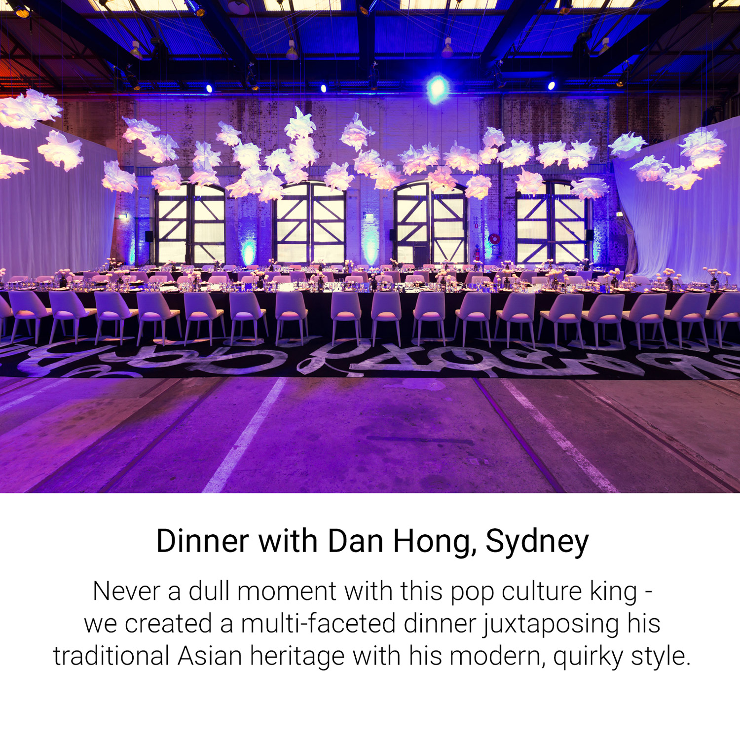 Dinner with Dan Hong, Sydney