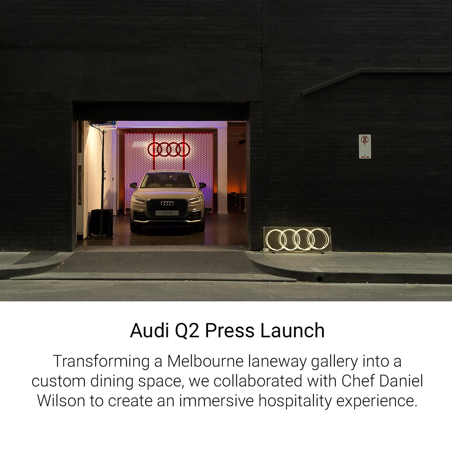 Audi Q2 Press Launch