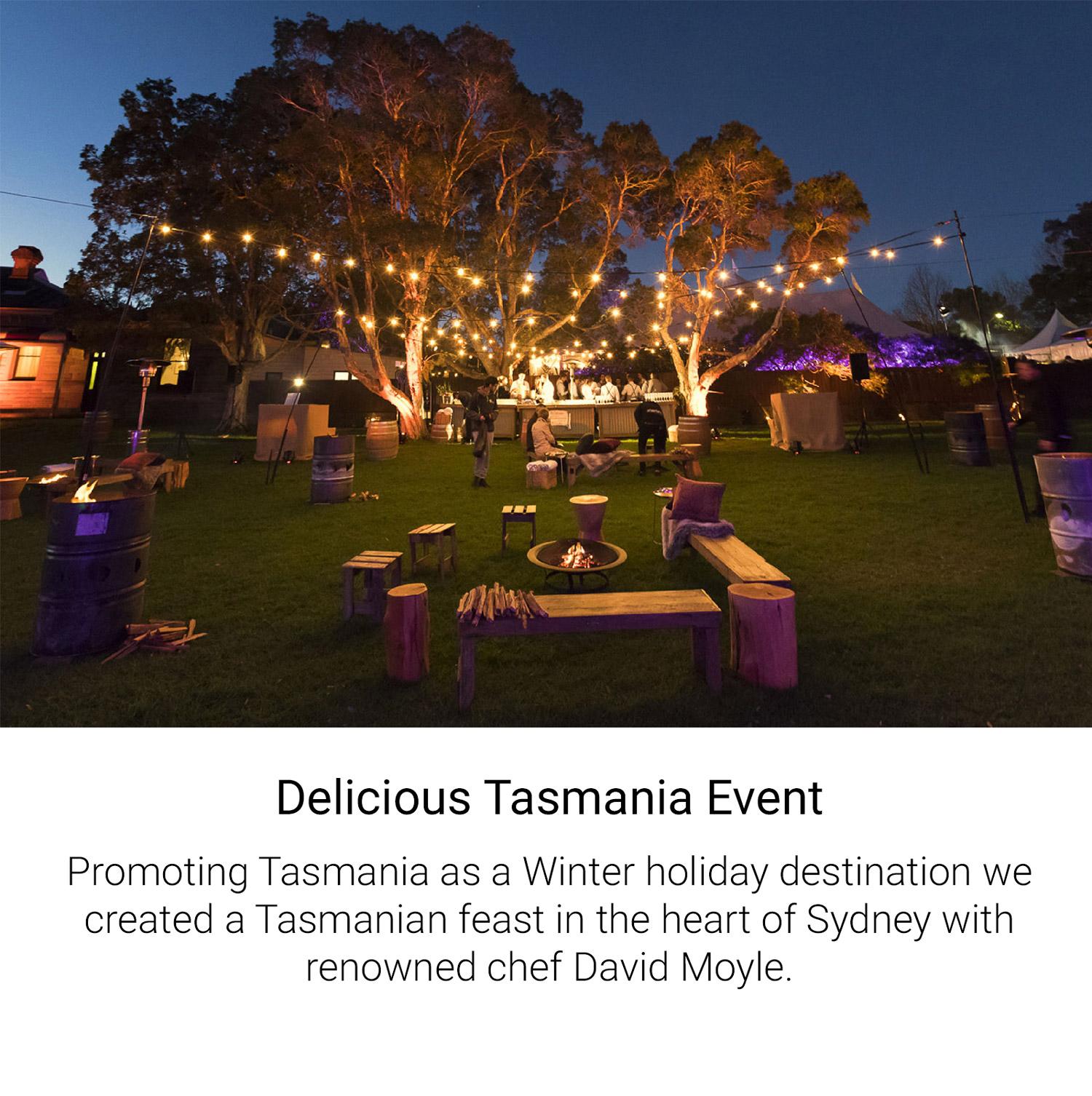 Delicious Tasmania Event