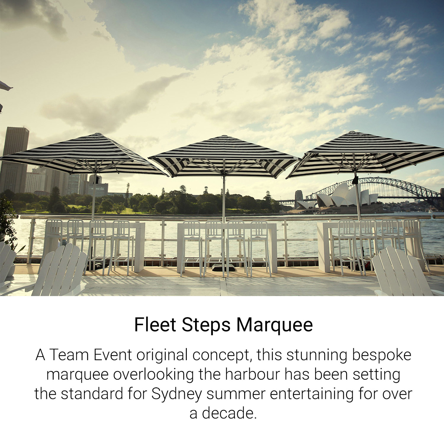 Fleet Steps Marquee