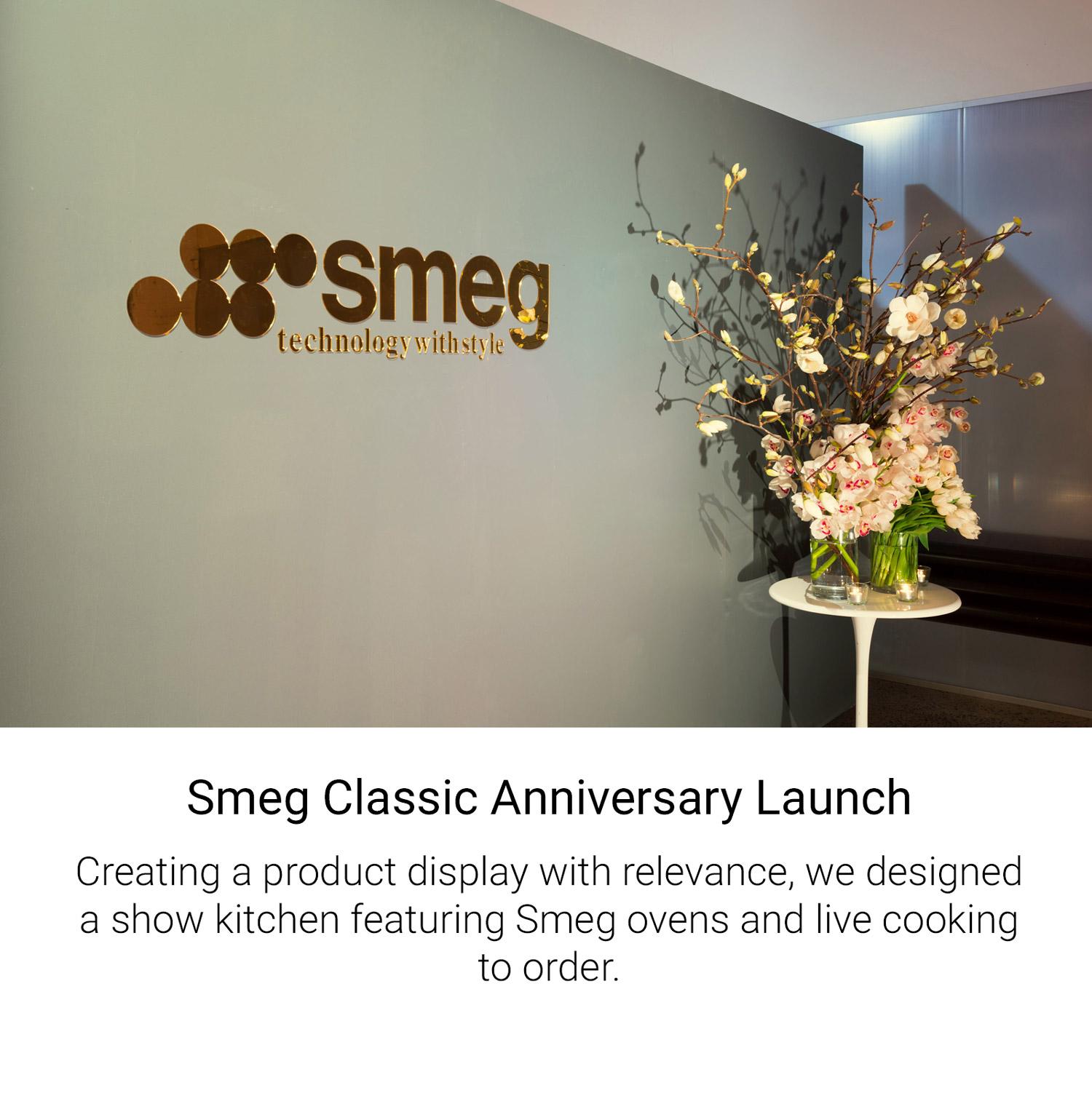 Smeg Classic Anniversary Launch