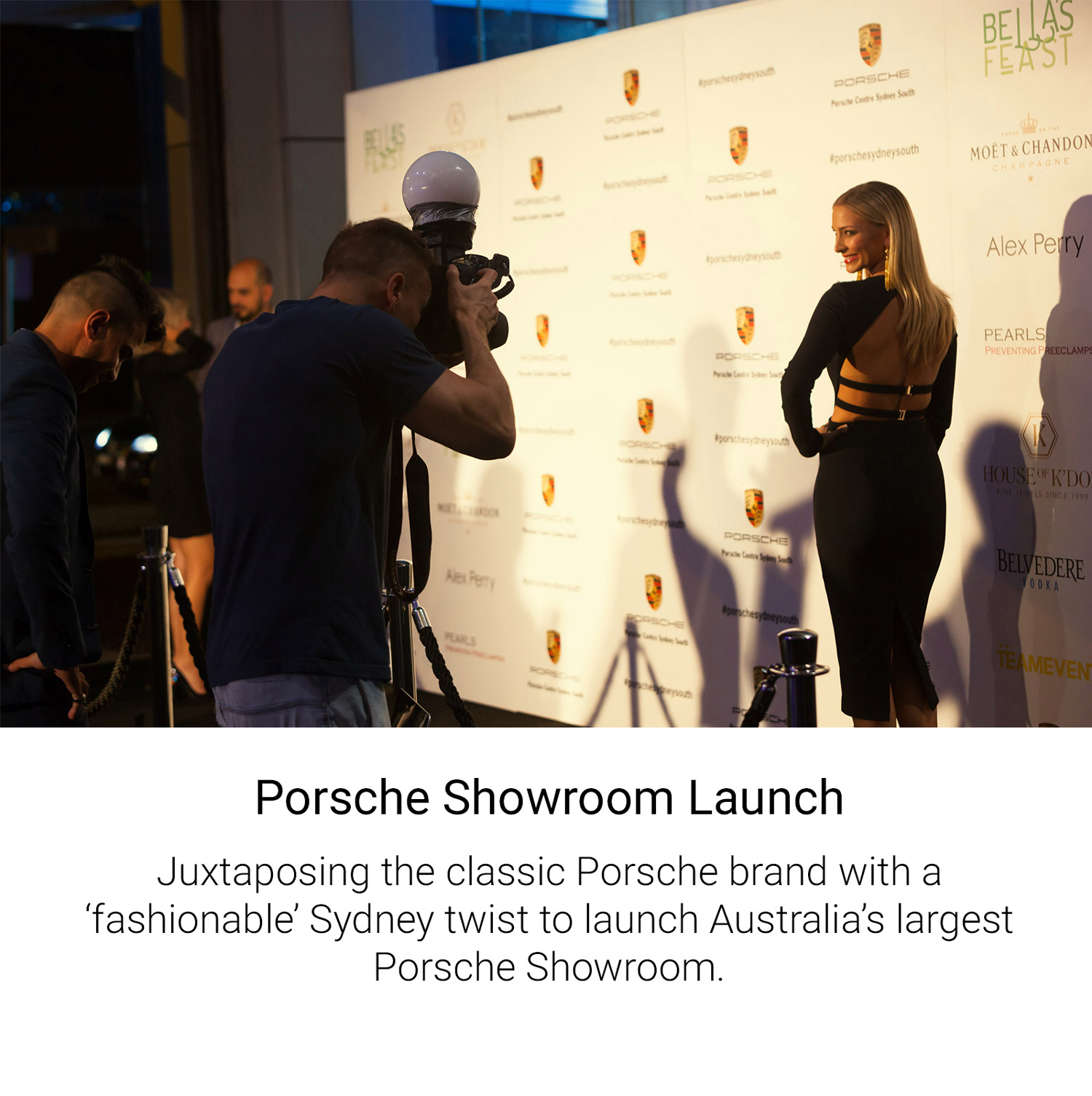 Porsche Showroom Launch