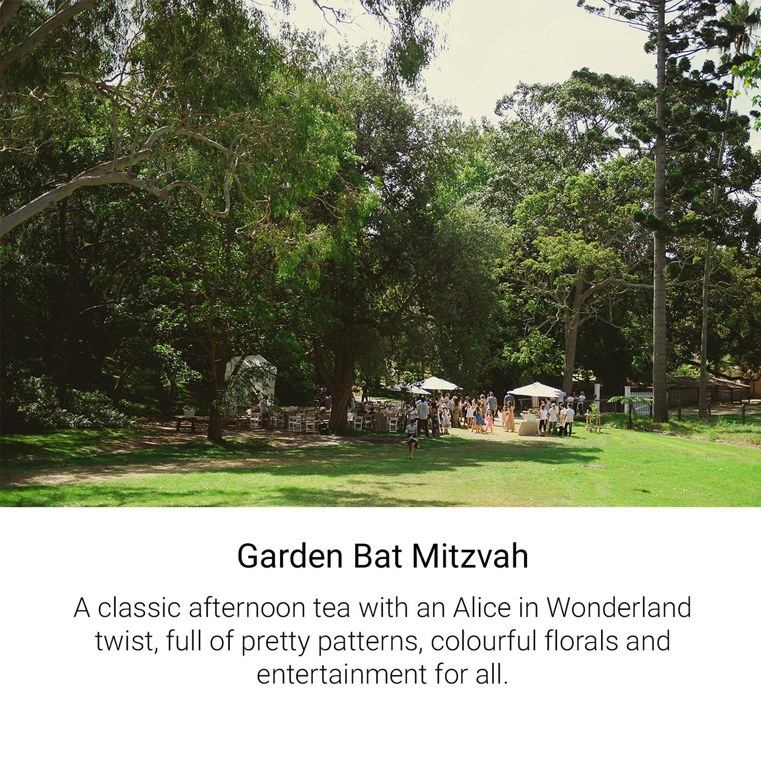 Garden Bat Mitzvah