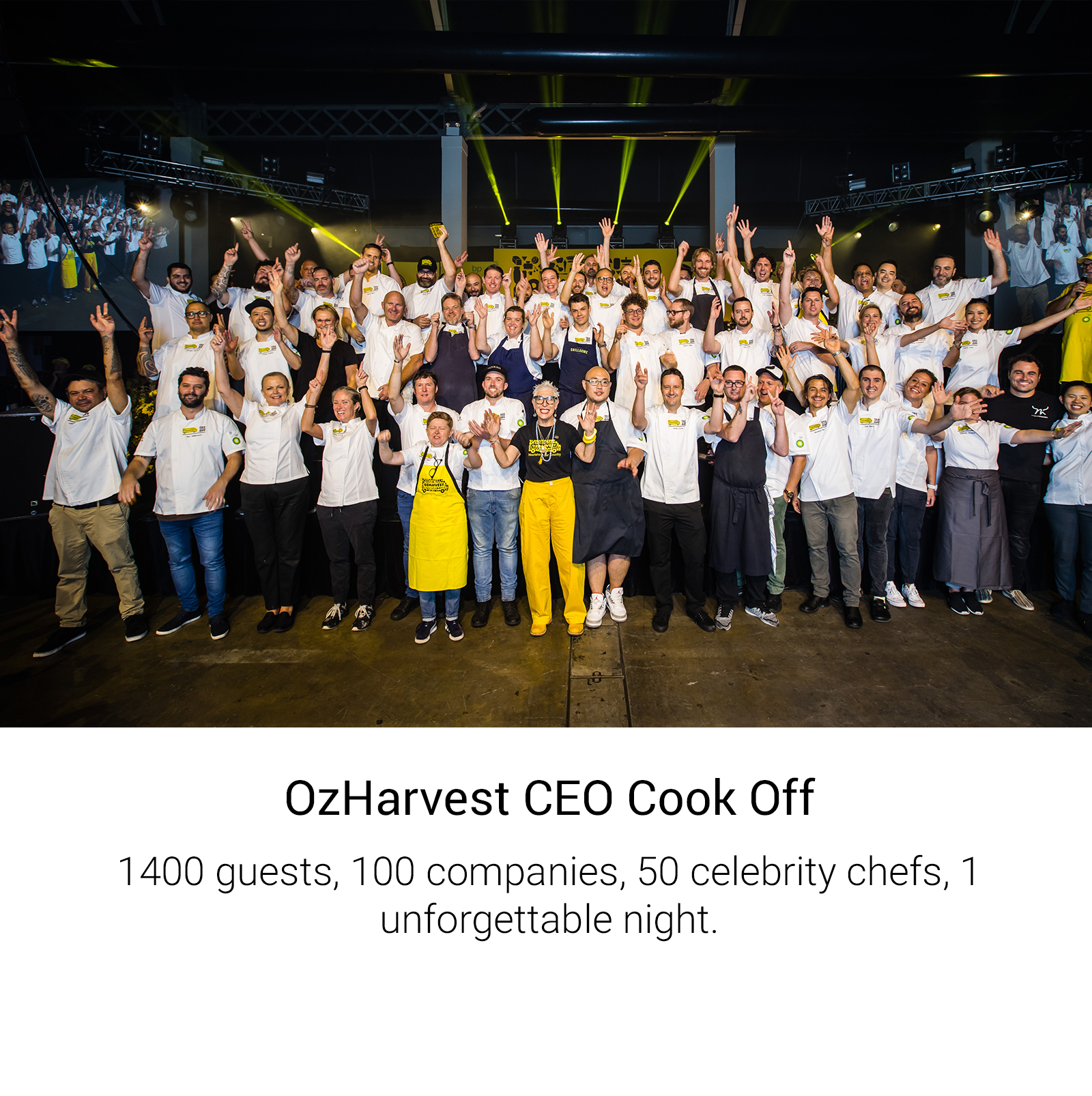 OzHarvest CEO Cook Off
