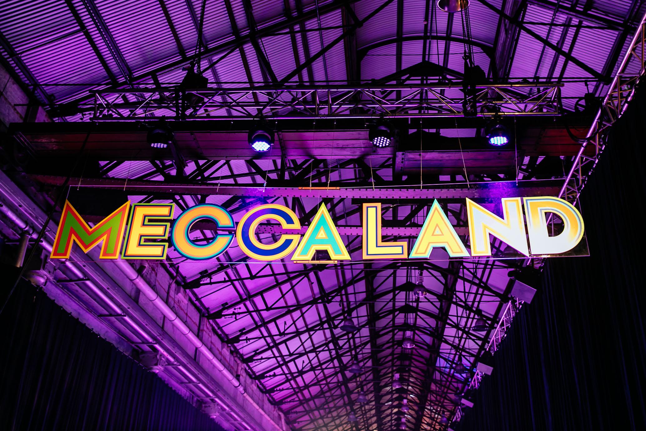 MECCALAND_Entrance Sign