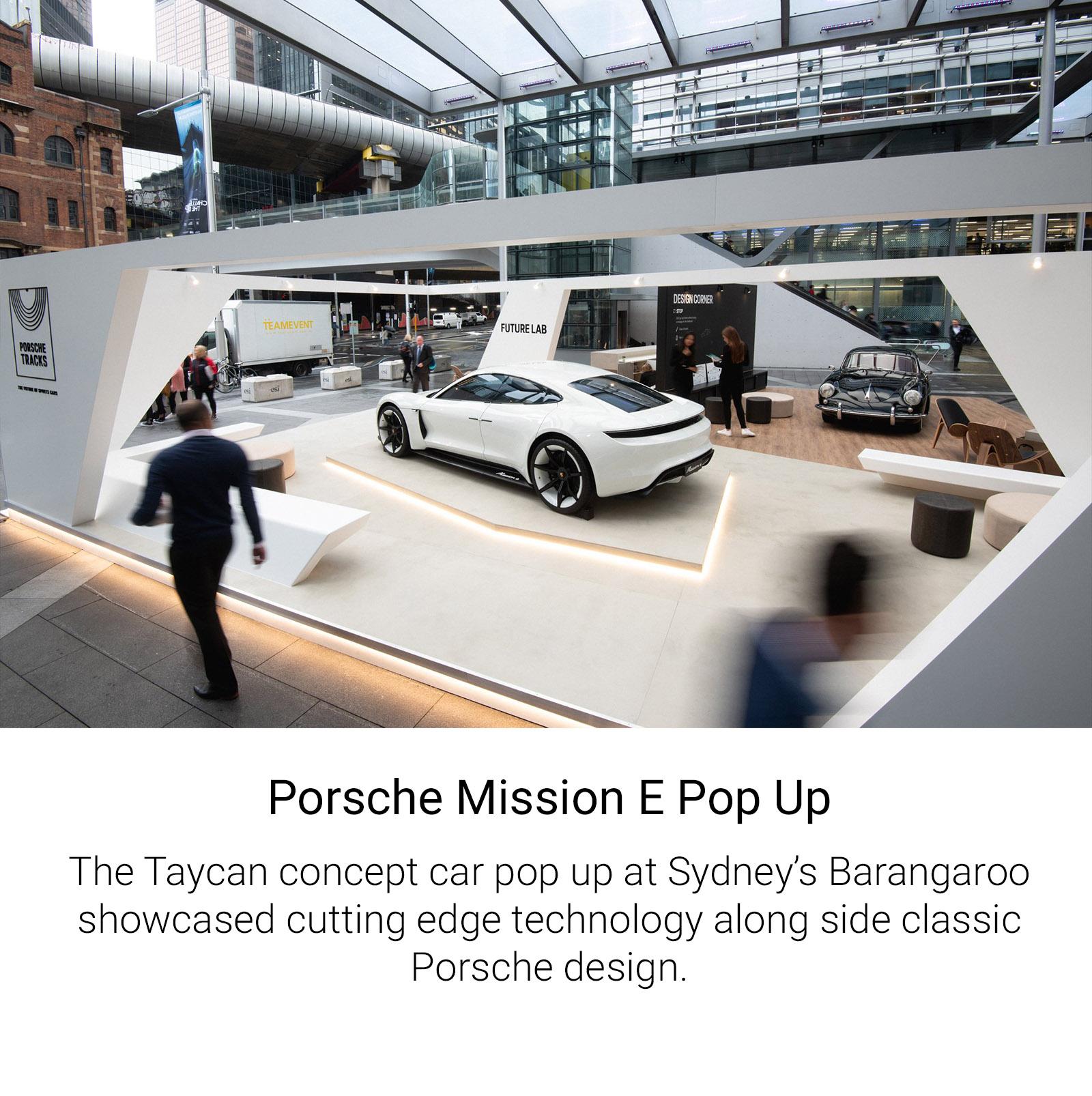 Porsche Pop Up