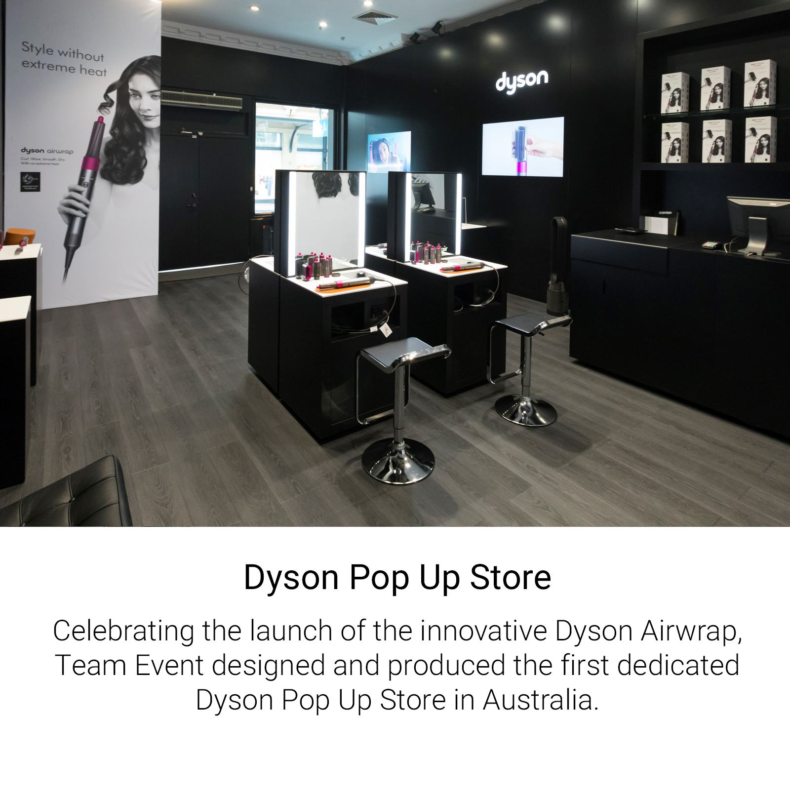 Dyson Pop Up Store