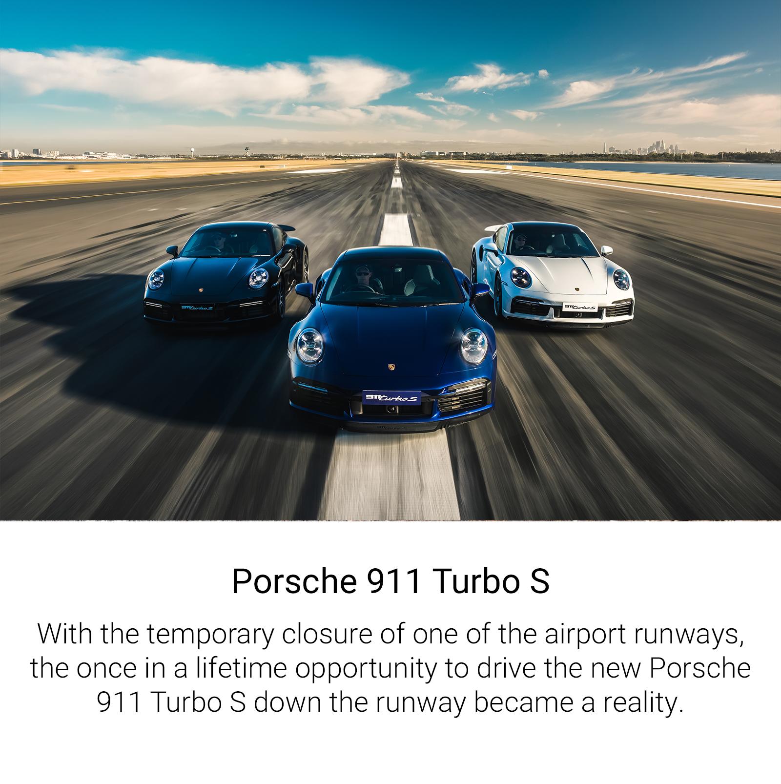 Porsche Turbo S Launch