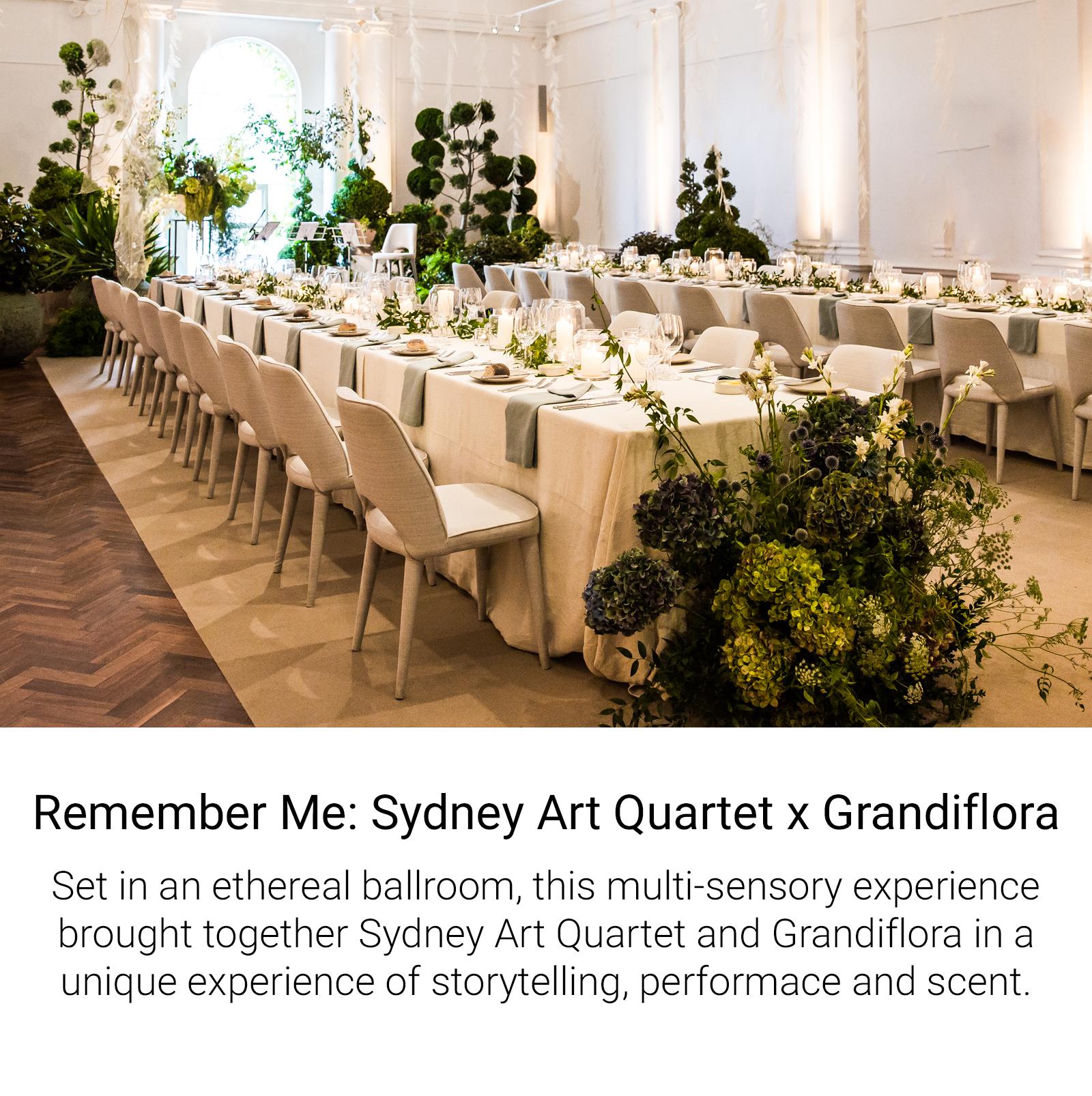 Sydney Art Quartet x Grandiflora